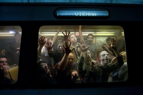 zombies metro